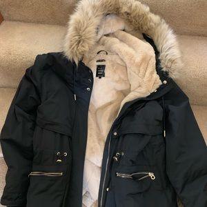 Zara Parka black XL